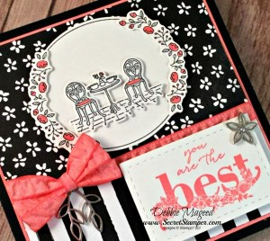 By Debbie Mageed, Charming Cafe, Happy Wishes, Celebrate You Thinlits, Occasions, Saleabration, Stampin Up