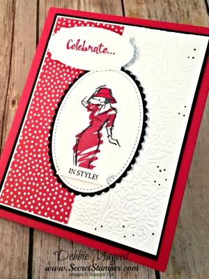 Pretty Birthday Card Featuring #BeautifulYou, #HelloFriend, #PetalPairs, #SecretsToStamping, #StampinUp