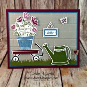 Retiring Grown with Love for Hand Stamped Sentiments