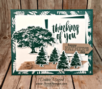 Rooted in Nature for Father's Day and Hand Stamped Sentiments