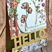 We Love What You Do for Hand Stamped Sentiments