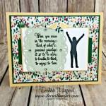 It's Time to Enjoy Life with a Card for Hand Stamped Sentiments