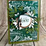 Sending Love with the Floral Frames Bundle for Cardz 4 Galz
