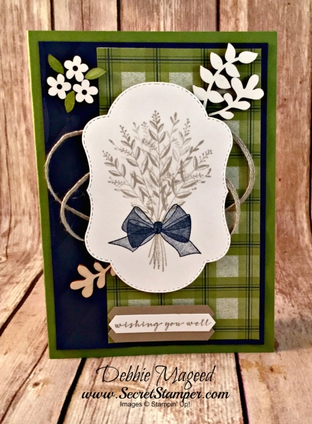 Autumn Card Featuring #WishingYouWell, #GetWell, #SecretsToStamping, #StampinUp