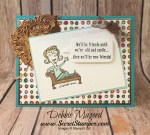 Humorous Birthday Card Featuring #JustKidding, #Birthday, #HumorousBirthday, #SecretsToStamping, #StampinUp
