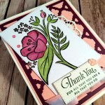 All That You Are to Say Thank You with Hand Stamped Sentiments