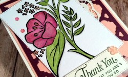 Pretty Thank You Card Featuring #AllThatYouAre, #FlorentineThinlits, #ThankYou, #AllOccasion, #SecretsToStamping, #StampinUp