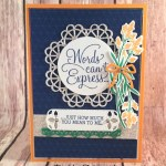 Dear Doily, You Make Such a Pretty Card for the Sisterhood of Crafters
