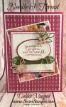 Pretty Friendship Card Featuring Needle & Thread and Needlepoint Nook and Needlepoint Elements, #Friendship #SecretsToStamping #StampinUp