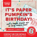 Paper Pumpkin  is Celebrating Their 6th Anniversary and You're Invited!