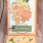 Springtime Lovely Lattice Card Idea for the Pals Blog Hop
