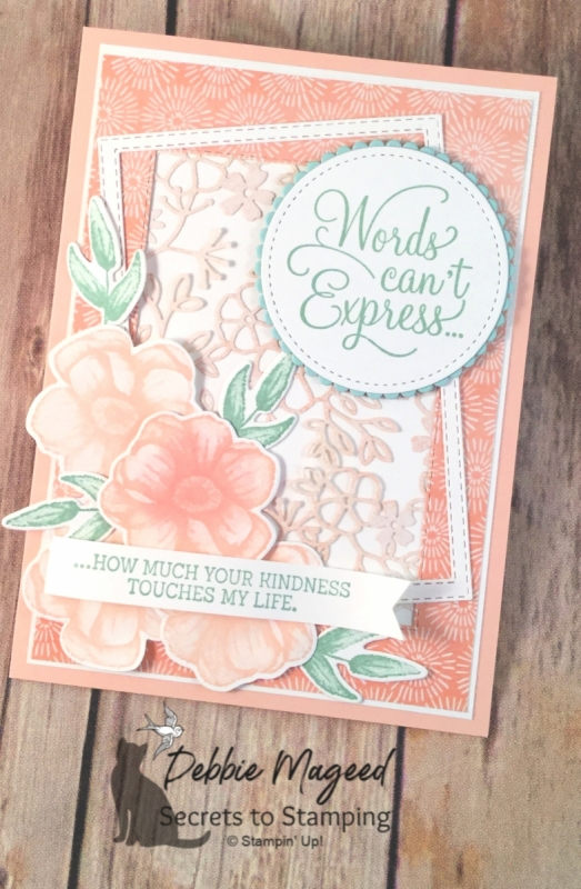 Pretty Spring Card Featuring Painted Seasons by Stampin' Up!
