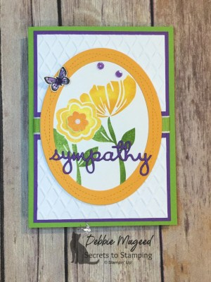 Bloom by Bloom Sympathy Card for Make My Monday