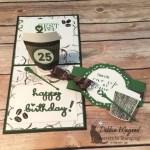 A Coffee Cafe Pop-Up Birthday Card for Cardz 4 Galz