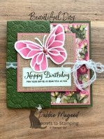 A Beautiful Day Birthday Card for the Pals Blog Hop