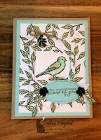 Free as a Bird All Occasion Card for the Sisterhood of Crafters
