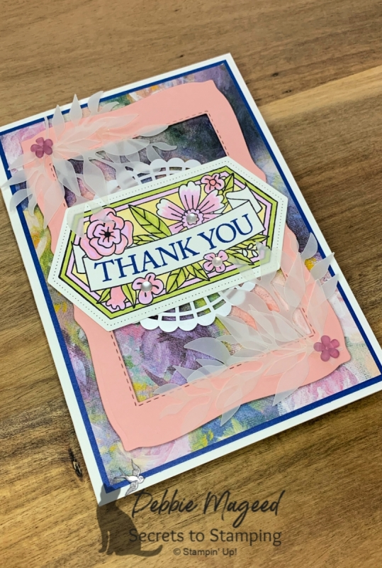 Thank You Card featuring Believe You Can Stamp Set by Stampin' Up!