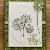 Dandelion Wishes Birthday Card for Sisterhood of Crafters