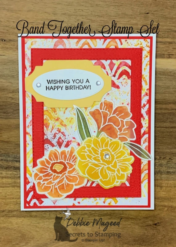 Band Together Birthday Card by Stampin' Up!