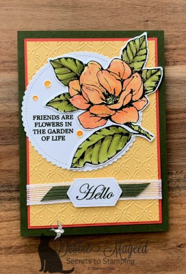Good Morning Magnolia Friendship Card for the Sisterhood of Crafters