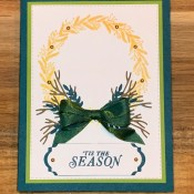 Easy Tidings All Around Holiday Card for Cardz 4 Galz