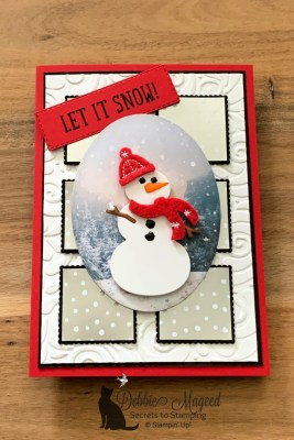 Let It Snow Embellishment Kit with Snow Place for Cardz 4 Galz