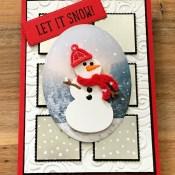 Let It Snow Embellishment Kit with Snow Place for Cardz 4 Galz
