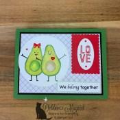 Fun Anniversary Card Using Garden Goodness for the Alphabet Challenge