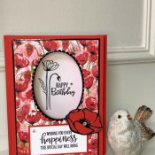 Peaceful Moments Shadow Box Card for the Pals Blog Hop