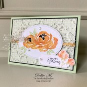 Beautiful Friendship Spring Card for the Sisterhood of Crafters