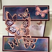Butterfly Gala Fun Fold Card for the Pals Blog Hop's 10th Anniversary