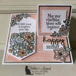 Pocketful of Happiness Half Easel Card for the Pals Blog Hop