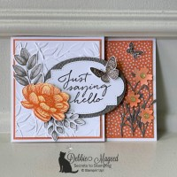 Tasteful Touches Fun Fold Card for Sisterhood of Crafters