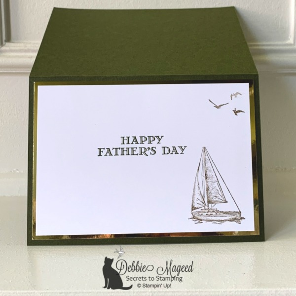 Father's Day Card Featuring Beautiful World Stamp Set by Stampin' Up!
