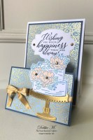 So Sentimental Wedding Card with the Sisterhood of Crafters