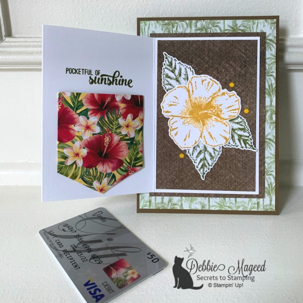 Timeless Tropical Birthday Fun Fold Card by Stampin' Up!
