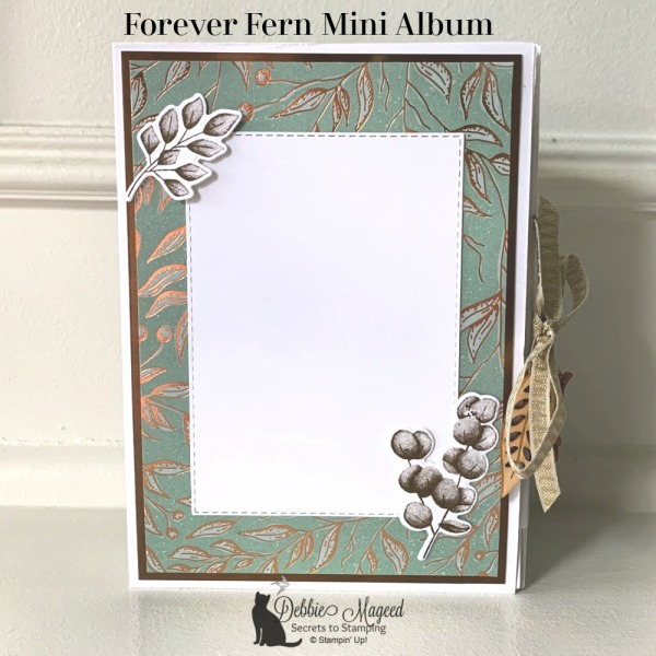 Mini Album featuring Forever Fern Stamp Set by Stampin' Up!