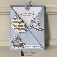 Freezin' Fun Fold Card for Make My Monday