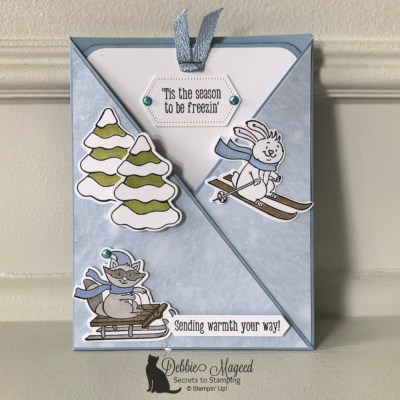 Freezin' Fun Fold Card for Make My Monday