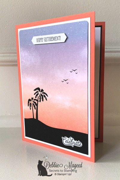 Beach Card with Senior Years by Stampin' Up!