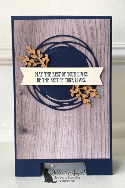 Masculine Card Featuring A Good Man Stamp Set by Stampin' Up!