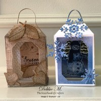 Cute Seasonal Lanterns with Snow Wonder and Love of Leaves by Stampin