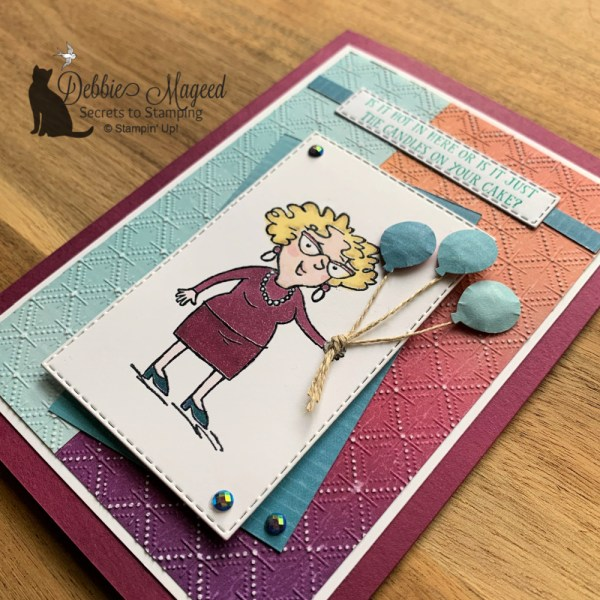 Fun Birthday Card Featuring Senior Years by Stampin' Up!