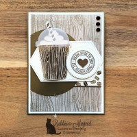 Warm Hugs and Coffee Cafe All Occasion Card for Cardz 4 Galz