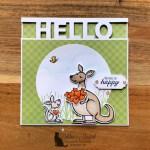Kangaroo & Company Valentine Card for Make My Monday