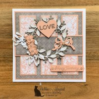 Arrange A Wreath Birthday Card by Stampin