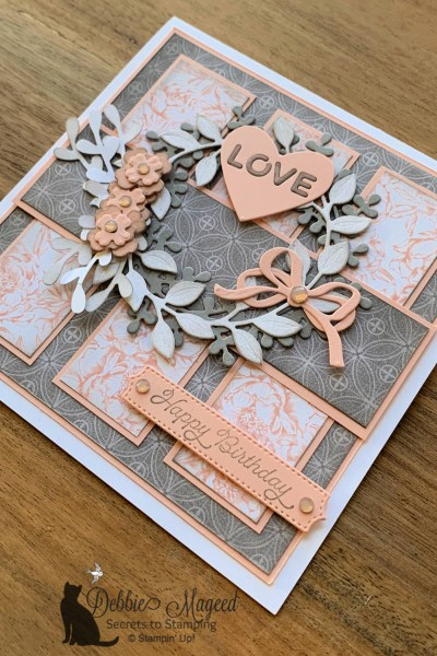 Arrange A Wreath Birthday Card by Stampin' Up!