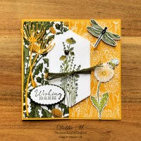 Dragonfly Garden Card by Stampin
