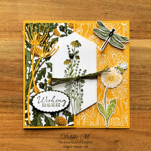 Dragonfly Garden Card by Stampin' Up!
