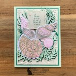 Friends Are Like Seashells for Happy Little Stampers Die Challenge